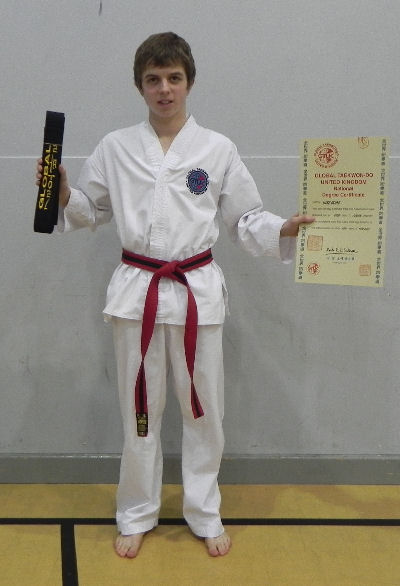 taekwondo thesis for black belt